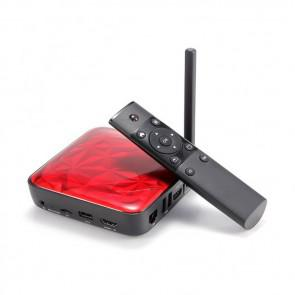 UGOOS UT3 4K TV Box RK3288 Quad Core Android 4.4 2GB 16GB Dual Band WIFI HDMI 2.0 1000M Ethernet Red