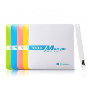 Voyo Mini PC Intel Z3735F TV Box Windows 8.1 2GB 32GB 1000mAh Battery White