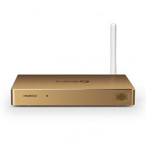 HiMedia H8 Quad Core Android TV Box 3D Blu-ray Android 4.2 1GB 8GB - Champagne